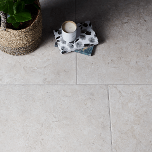 Mediterranean Porcelain Grey Close Up
