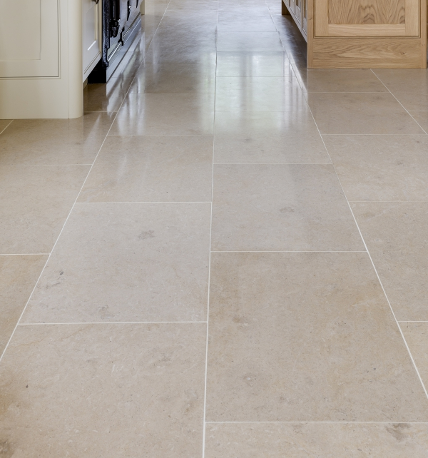 Neranjo Honed Limestone floor tiling