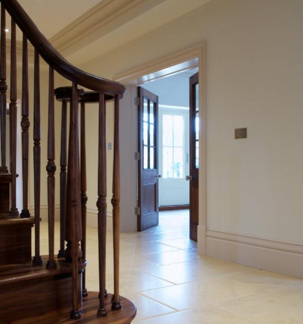 Neranjo Limestone Distressed Finish Ground Floor Tiling