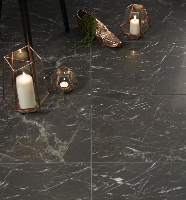 Pantheon Marble Honed Finish floor tiles