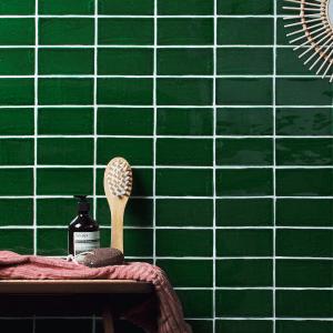 Seaton Ceramic Sea Grass Bathroom Wall Tiles