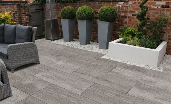 Albero porcelain paving tiles