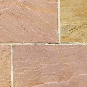natural Indian sandstone patio pavers