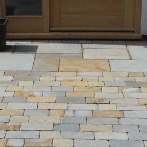 natural york stone patio pavers