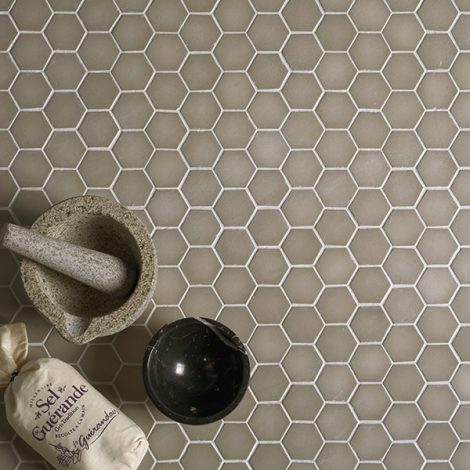 porcelain wall or floor mosaic tile