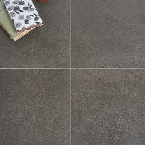 graphite grey porcelain wall and floor tiles