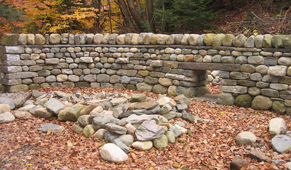 The combined level 3 test part A wall. Click here for the mark sheet for this wall (three images above)
