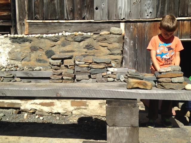 Stacking stones!