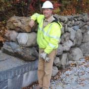 TJ Mora dry stone waller