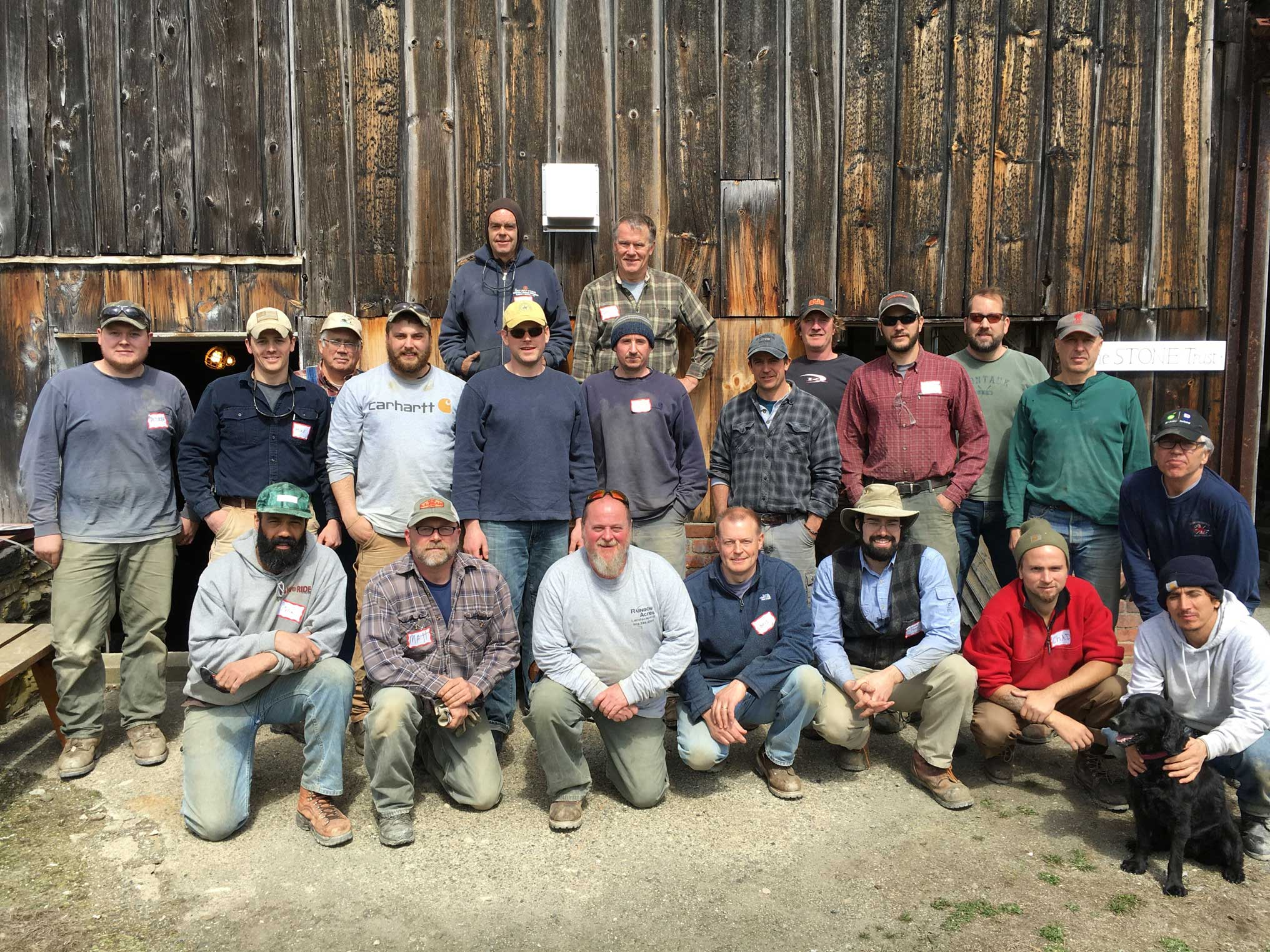 2016 March Contractors Workshop group picture