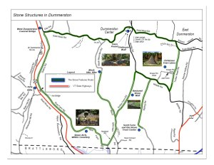 Stone Wall Attractions Map