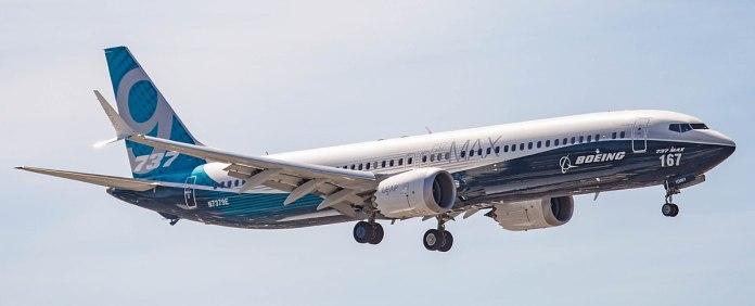 Boeing airplane