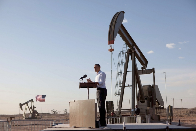 Oil and gas, obama, drilling rig