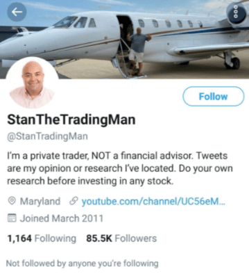 Stan The Trading Man