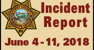 SCSO Incident Report June 4 - 11