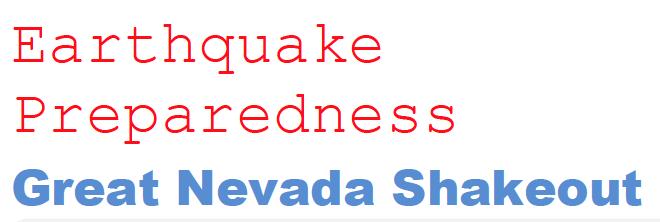 Storey County Earthquake Preparedness