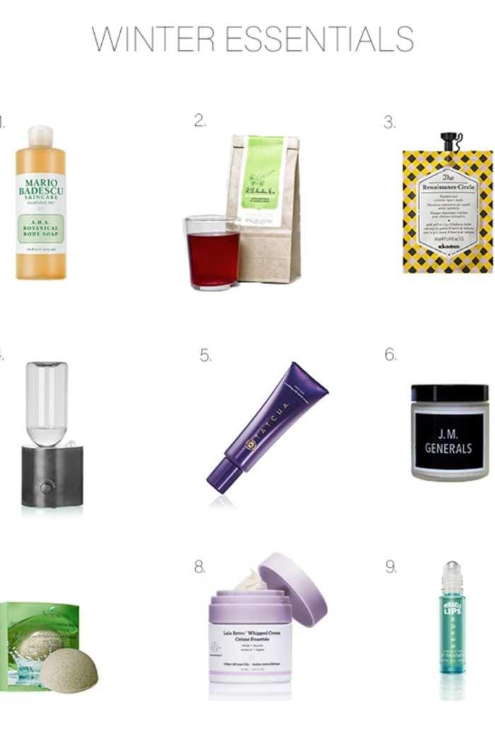 TSL's 9 Winter Skin Care Essentials