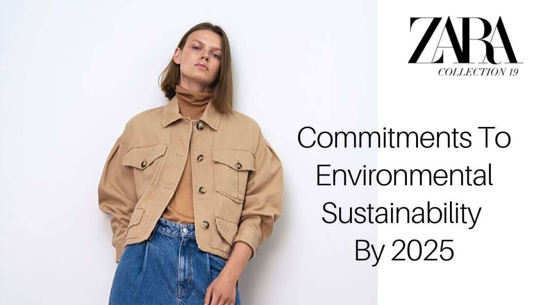 Female model wearing Zara sustainability line Join Life Collection 2019