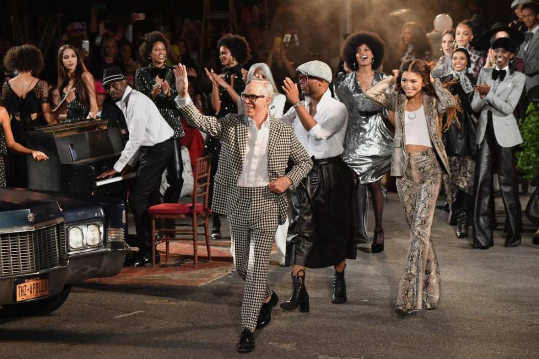 Tommy Hilfiger and Zendaya at The Apollo for TommyxZendaya, Fall 2019 runway show at New York Fashion Week