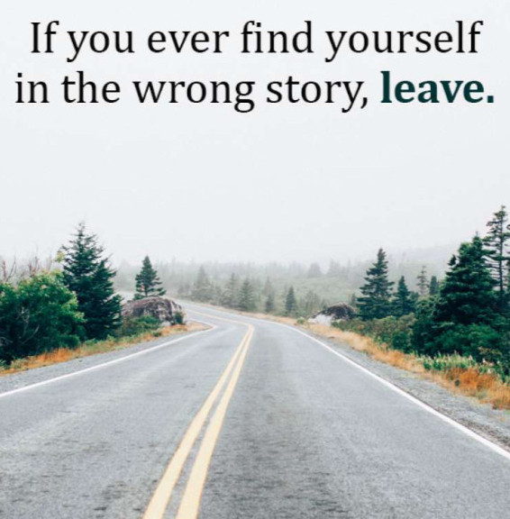 Owning the story in the right one