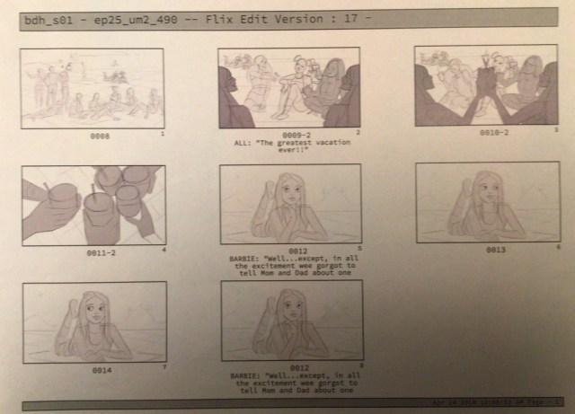 Storyboard blueprints