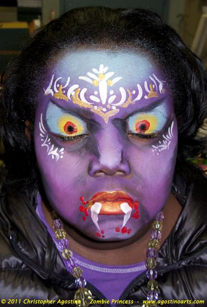 zombie - Zombie Halloween Faces
