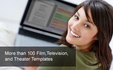 Final Draft - More than 100 screenwriting templates.