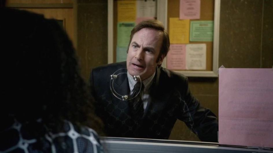 Bob Odenkirk as Saul, in Better Call Saul