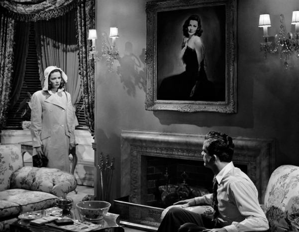 "Gene Tierney and Dana Andrews in Otto Preminger's ""Laura"""