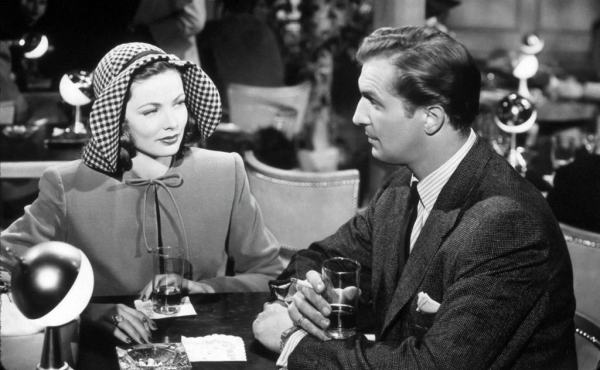 gene tierney and vincent price in preminger's laura
