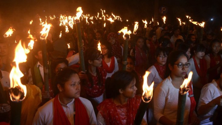 Protests against CAB in Guwahati