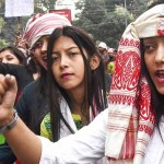 Protest against CAA in Assam