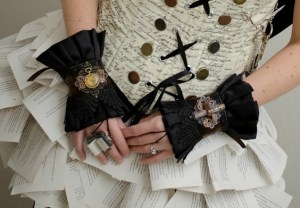 Book Fairy Wrist Cuffs