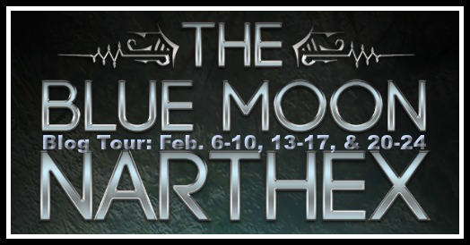 The Blue Moon Narthex Blog Tour Banner