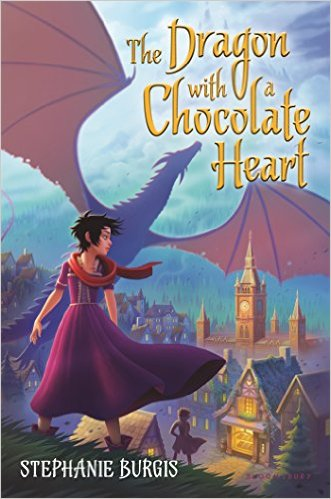The Dragon with the Chocolate Heart by Stephanie Burgis