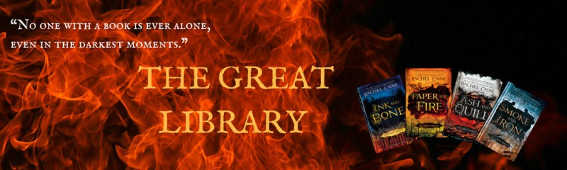 Great Library Series Banner
