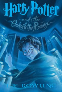Harry Potter and the Order of the Phoenix by J. K. Rowling - 600 pages