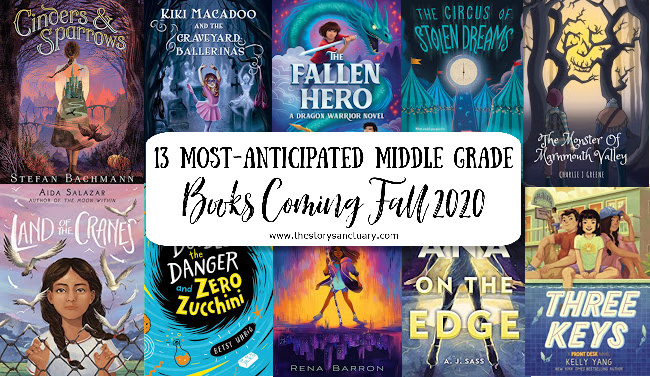 13 Most-Anticipated Middle Grade Books Coming Fall 2020