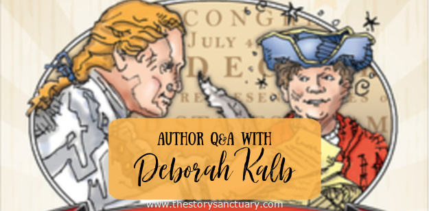 Thomas Jefferson and the Magic Hat Deborah Kalb Author Q&A