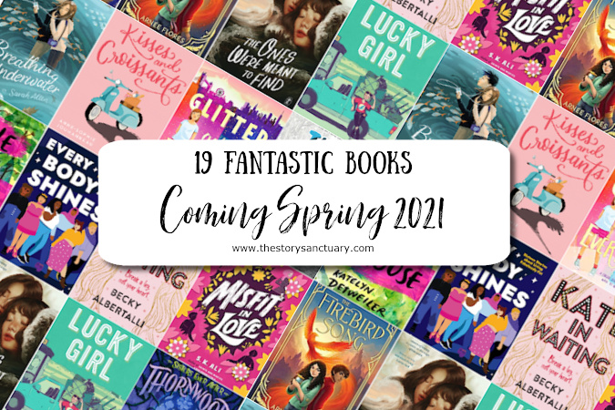 19 Fantastic Books Coming Spring 2021