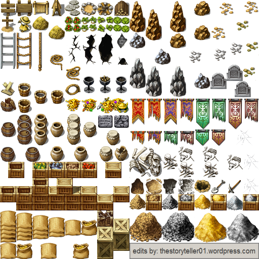 Complete Scenery Tileset for RPG Maker VX Ace