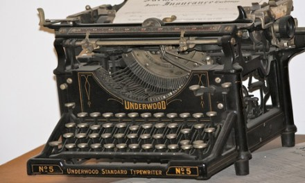 Repairing the Internal Writing Machine, by Ann Quiring