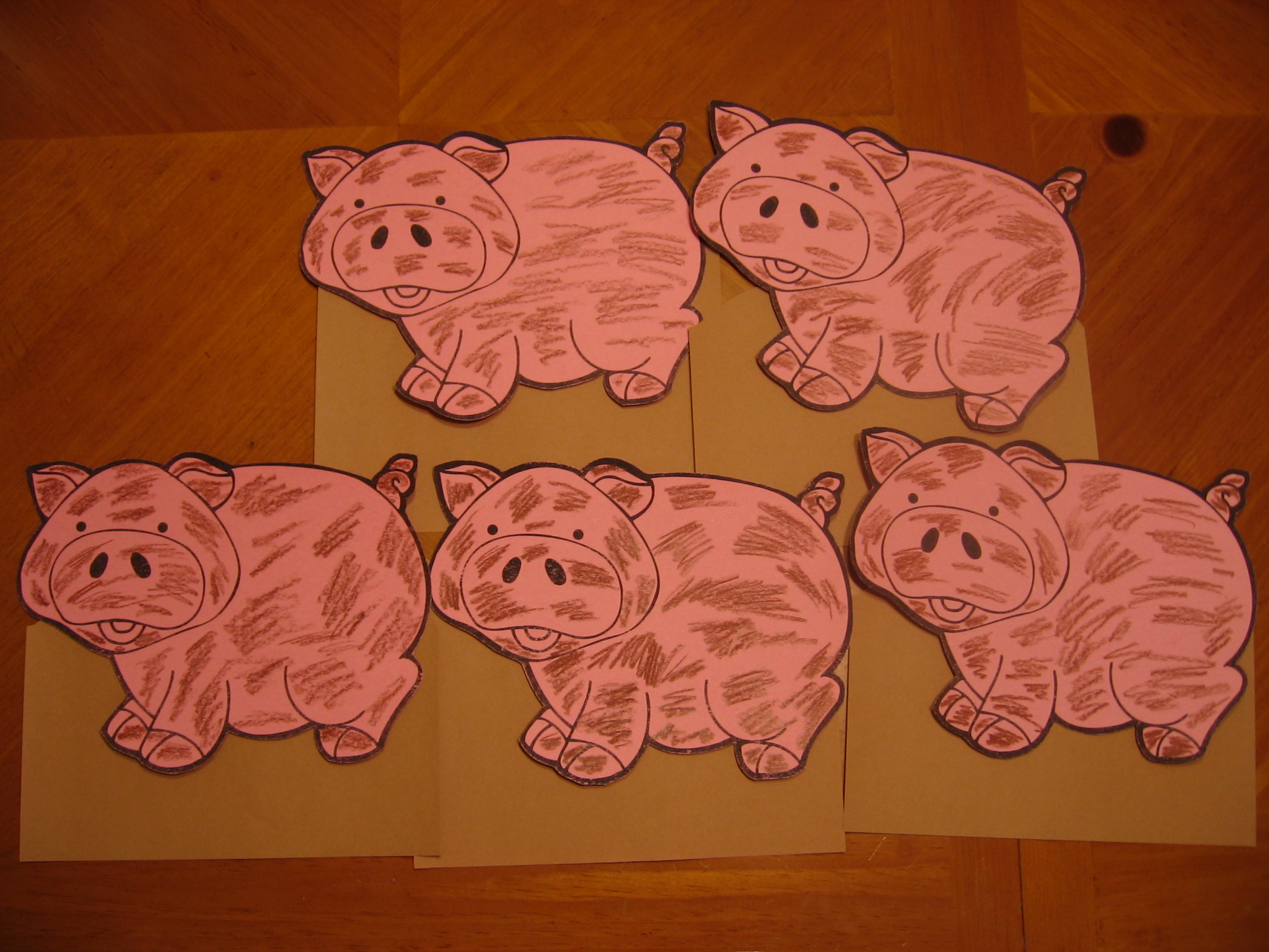 Pig Flannel Board