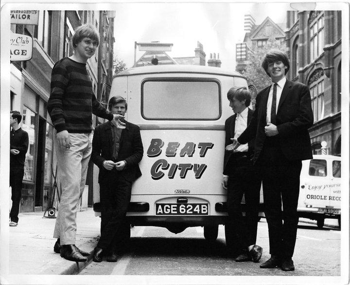 The Tomcats 1964, Tin Pan Alley, Denmark Street, London