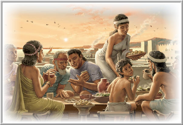 A Sumerian family