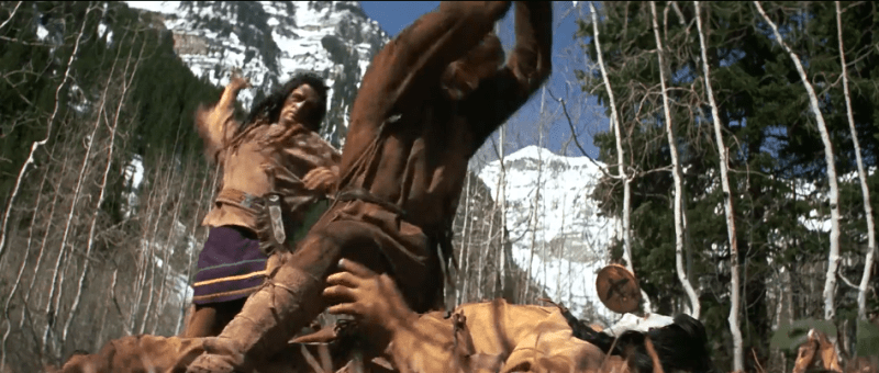 Jeremiah Johnson (1972) battles for his life against the Crow Indians who killed his wife and son.