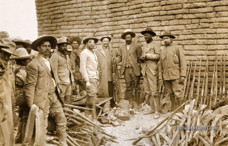 Huertist fighters, circa 1913