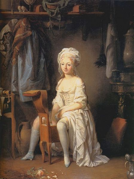"""La Toilette Intime"" by Louis Leopold Boilly, 1760s"