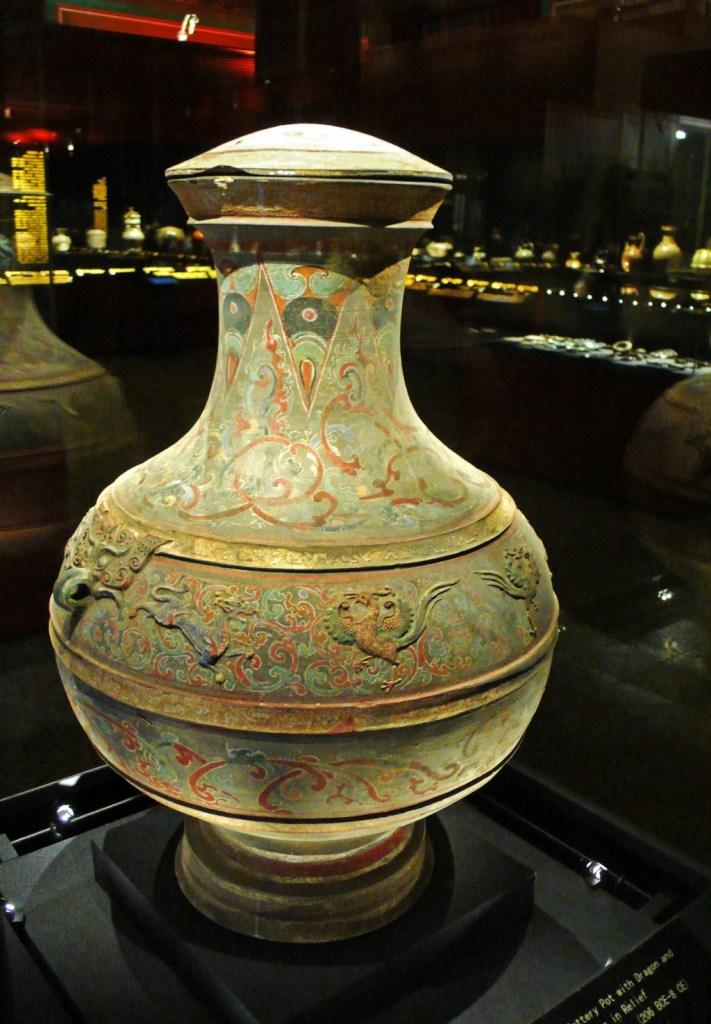 Han dynasty vase