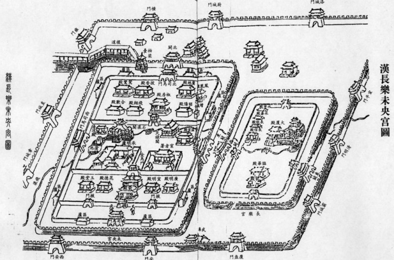 Chang'an in the Han period